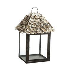 Oyster shell lantern