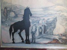 Het Zwarte Paard Picasso, Moose Art, Painting, Animals, Animales, Animaux, Painting Art, Paintings, Paint
