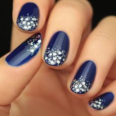 Best Winter Nails for 2018 - 45 Cute Winter Nail Designs - Best Nail Art
