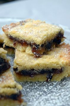 Mincemeat Shortbreads - Recipes World Mincemeat Bars Recipe, Mincemeat Cookies, Xmas Food, Christmas Cooking, Baking Recipes, Dessert Recipes, Scone Recipes, Minced Meat Recipe, Scottish Recipes
