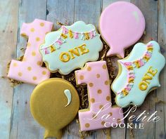 Hey, I found this really awesome Etsy listing at https://www.etsy.com/listing/240205709/pink-and-gold-birthday-sugar-cookies-1
