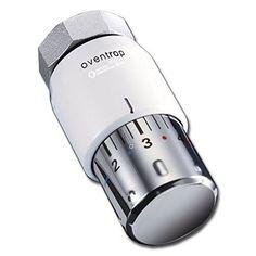 """Oventrop Thermostat """"Uni SH"""" 7-28 C, 0 x 1-5, Flüssig-Fühler, weiß, 1012065"""
