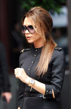 V Beckham's hair