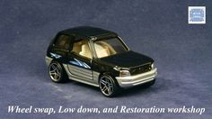 TOMICA 024E TOYOTA RAV4 MK1 SHORT #WHEELSWAP #LOWDOWN | v.56 | BLACK |GTR SILVER
