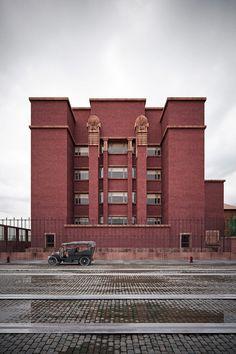 Larkin Administration Building / Frank Lloyd Wright / Buffalo, New York / 1904-06 |