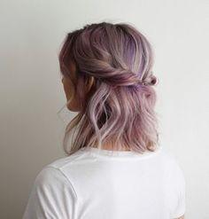 nice 5 Möglichkeiten, schulterlanges Haar tragen