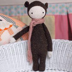 BINA the bear made by Veronika H. / crochet pattern by lalylala