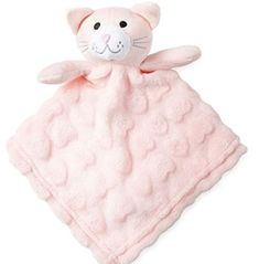 Hello Kitty TAGGY BLANKET PERSONALISED  New Born Baby Gift choose design