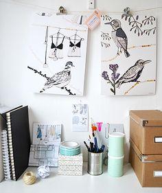 Desk | Elina Dahl