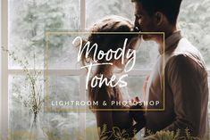 Moody Tones Wedding LR PS Filters - Actions