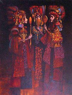 'Three Vain Women' By James Christensen