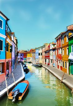 More colorful places to stay!
