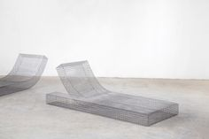 Muller van Severen created elegant sculptural wire furniture for the design home in Spain