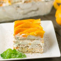 Mango Float - Salu Salo Recipes