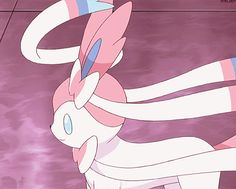 Serena's newly evolved Sylveon