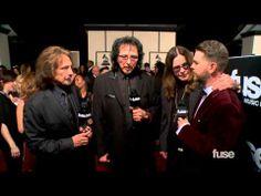 ▶ Black Sabbath on GRAMMY Nomination, the Beatles & World Tour - GRAMMY Red Carpet - YouTube