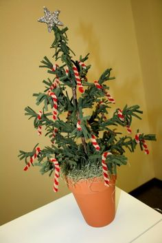 Wool Feather Christmas Tree