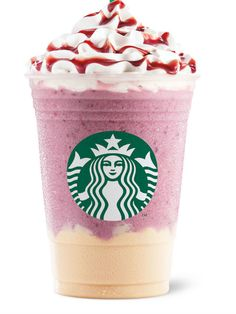 15 Most Amazing Starbucks Drinks Around the World  -    Summer Berry Panna Cotta Frappuccino Panna cotta pudding is spooned into the bottom of each cup, then covered with an icy blend of blueberries, strawberries, cranberries, and mulberries. Because sometimes you can't decide whether you want a smoothie or an Italian dessert, and you shouldn't have to choose.