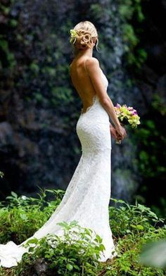 Beautiful Backless Wedding Dresses By Katie May
