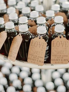 Consider the time of year, your wedding location and what you think your guests will actually use and enjoy when deciding on wedding favors.