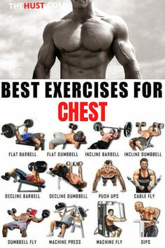 Chest Workout For Men, Chest Workout Routine, Home Workout Men, Gym Workouts For Men, Chest Workouts, Weight Training Workouts, At Home Workouts, Cardio Workouts, Gym Workout Chart