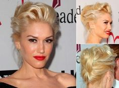 gwen stefani updo hairstyles - Google Search