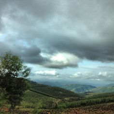 Typical view of the mountainous landscape in Swaziland