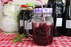 Sirup z čiernych ríbezlí Ale, Mason Jars, Mugs, Tableware, Syrup, Dinnerware, Ale Beer, Tumblers, Tablewares