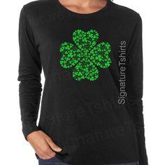 Ultras Daly City Shamrock Womens Cotton T-Shirt