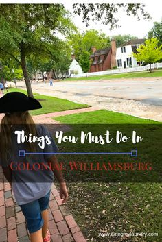 If you're heading to Colonial Williamsburg in Virginia, I have ideas on what to do!