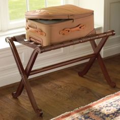 Chateau Luggage Rack- beautiful, but $$