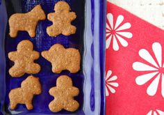Put a seasonal spin on an old classic with Gingerbread Animal Crackers!