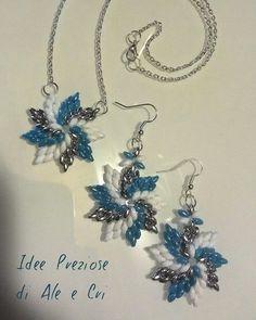 """Collana e orecchini / Necklace and earrings """"Idee Preziose di Ale e Cri"""""""
