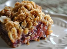 How To Cook » Grandma's Rhubarb Crunch | On The Grill | Recipes