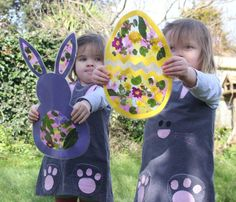 easter crafting with centre parcs