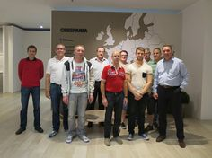 We were visited by our friends at Fliesen Center2000 (Germany) who met all the novelties and technical solutions we provide for their projects.