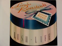 """Linda Ronstadt - Lush Life with Nelson Riddle - Jazz - Big Band - """"When I Fall In Love"""" - Asylum Records 1984 - Vintage Vinyl LP Album by notesfromtheattic on Etsy"""