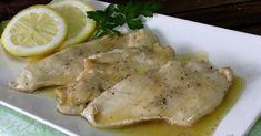 Pechugas de pollo en salsa de limón