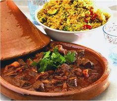 Authentic Recipe for Moroccan Lamb Tagine: http://www.braxtedparkcookery.co.uk/cookery-school-course-list.cfm?id=93