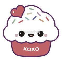 """""""Cute Love Cupcake."""""""
