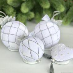 Купить Набор новогодних шаров «Снежная королева» - рождество, елочные украшения, елочные шары
