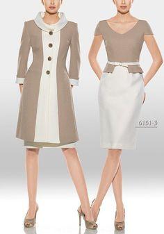 I'd don this ensemble ~ :-) > vestidos fiesta mini peplum Lovely Dresses, Beautiful Outfits, Cool Outfits, Girl Fashion, Fashion Dresses, Womens Fashion, Fashion Design, Blouse Dress, Dress Up