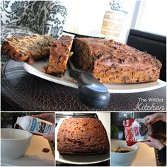 3 Ingredient Fruit Cake - The WHOot Kitchen
