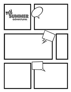 Comic Strip Template | Best Template Collection