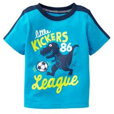Jumping Beans® Colorblock Graphic Tee - Baby Boy