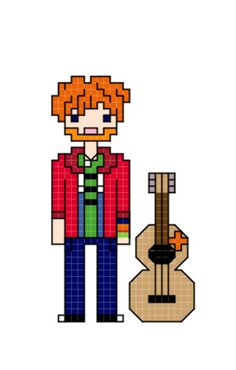 Hey, I found this really awesome Etsy listing at https://www.etsy.com/listing/112909734/ed-sheeran-cross-stitch-pattern