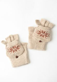 Norwegian Beau Convertible Mittens | Modern Vintage Accessories