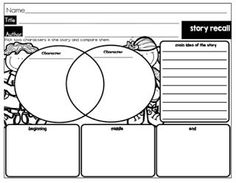 Biography Graphic Organizer (planning stage of writing