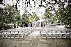 Forsyth Park Wedding - Savannah, GA