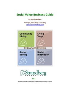 Business Guide to Social Value Creation 2014